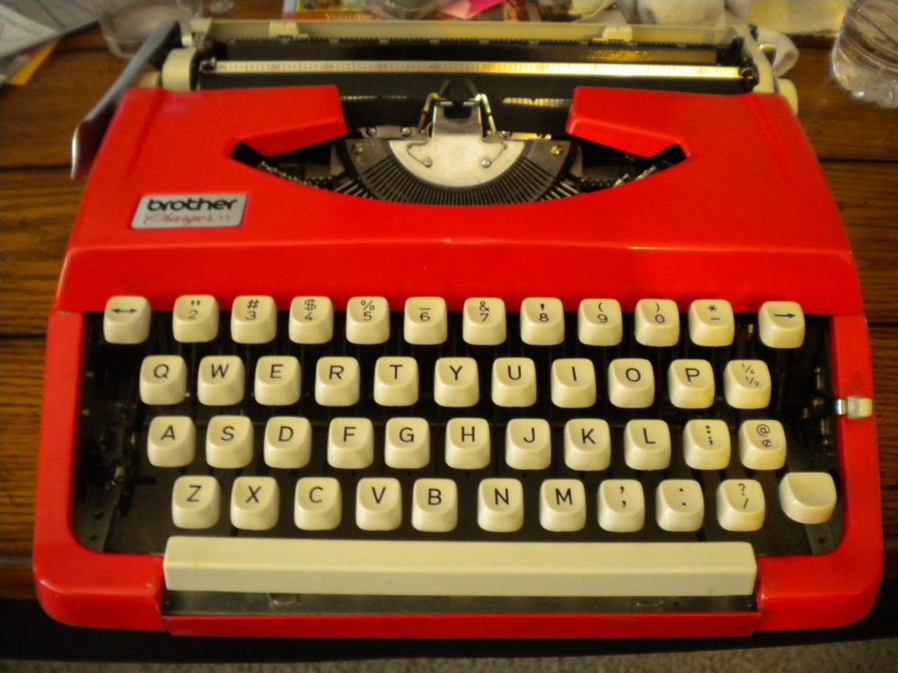 60's Typewriter